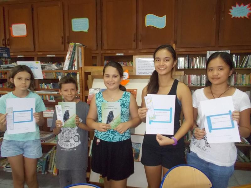 Lauréats concours citations